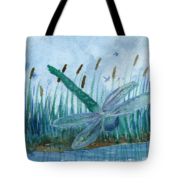 Whispering Cattails Tote Bag