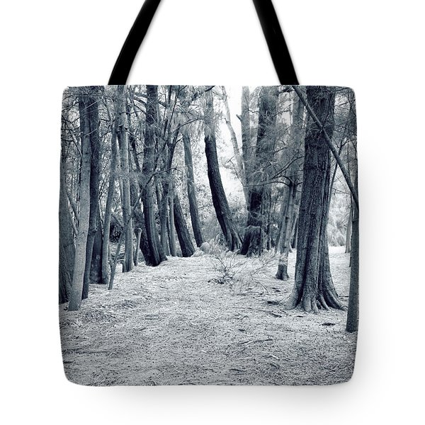 Tote Bag featuring the photograph Whispering Forest by Wayne Sherriff