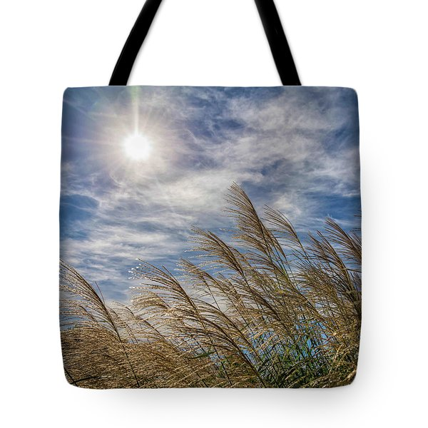 Whispering Grasses Tote Bag