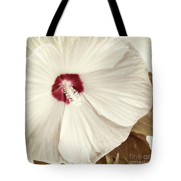 Whispering Hibiscus Tote Bag