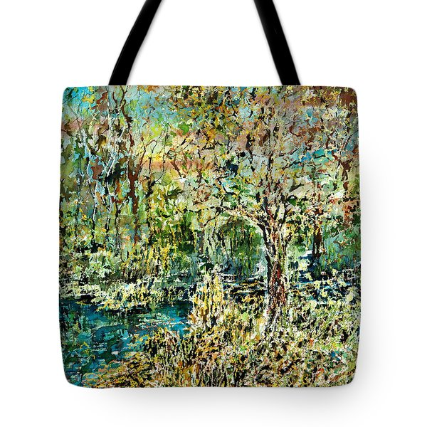 Whispering Leave Tote Bag