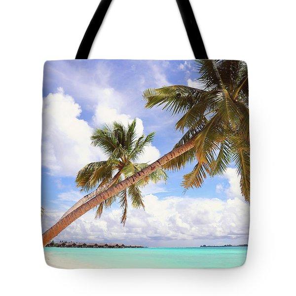 Whispering Palms. Maldives Tote Bag