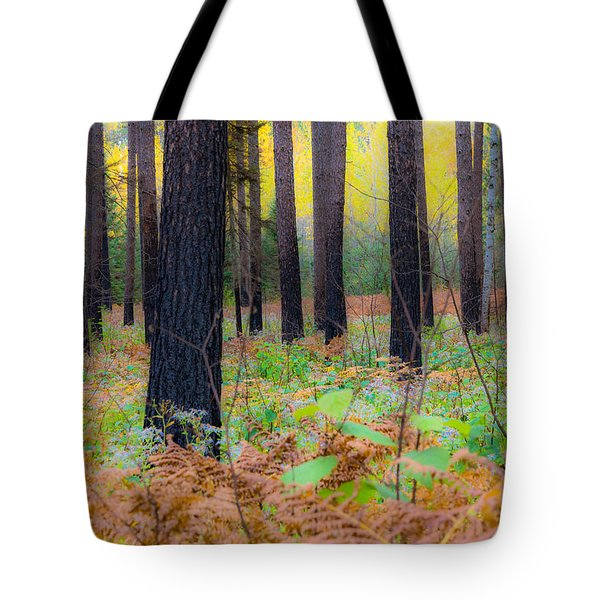 Whispering Woods Tote Bag
