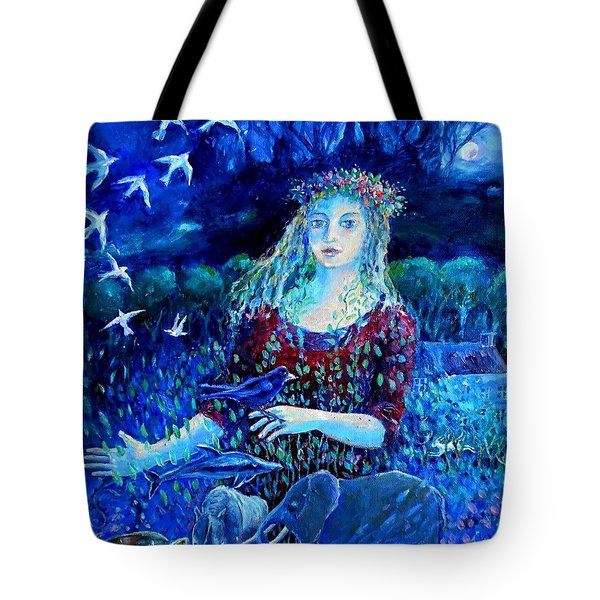 Whispers From The Future  Tote Bag