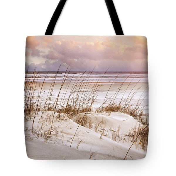 Tote Bag featuring the photograph Whispers In The Dunes by Debra and Dave Vanderlaan