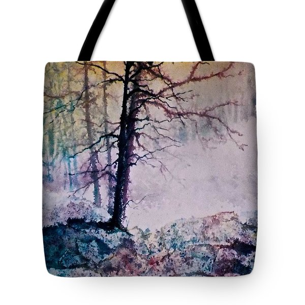 Whispers In The Fog Tote Bag