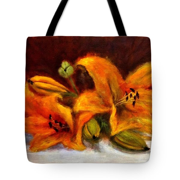 Tote Bag featuring the painting Whispers Of Love..2 by Cristina Mihailescu