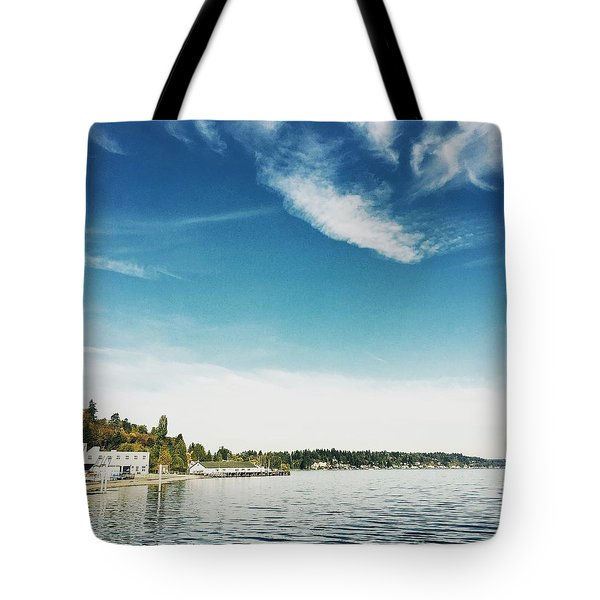 Whispy Northwest Days Tote Bag
