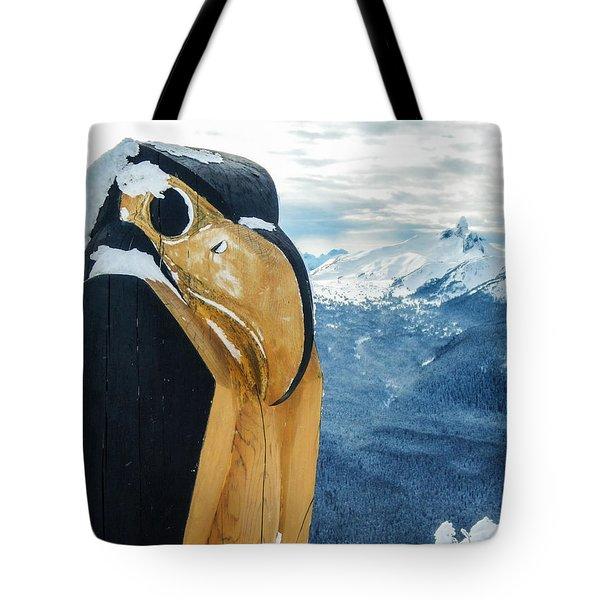 Whistler Raven Tote Bag