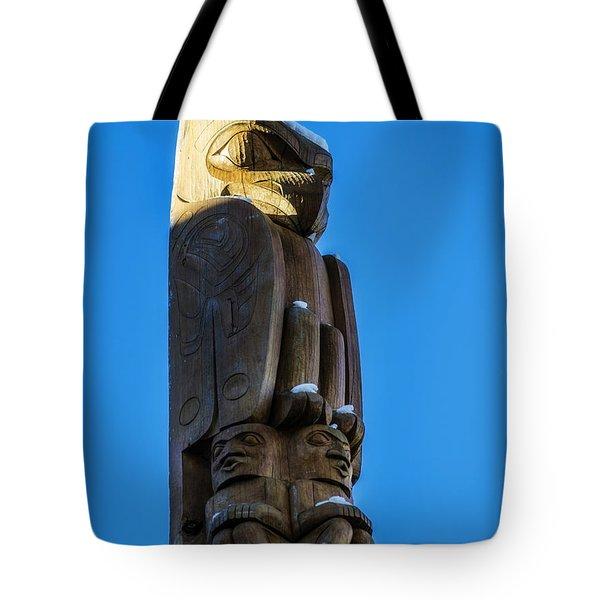 Whistler Totem Pole Tote Bag