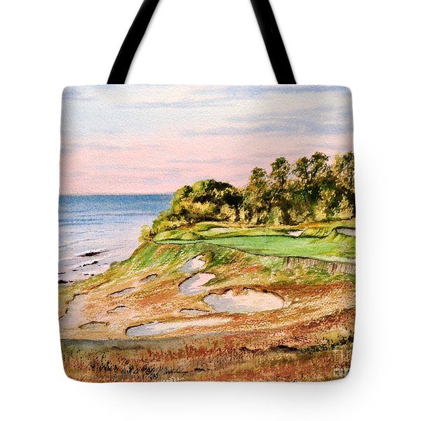 Whistling Straits Golf Course 17th Hole Tote Bag
