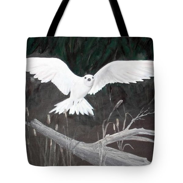 White Tern Tote Bag
