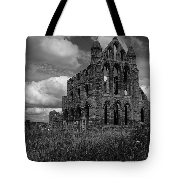 Whitby Abbey, North York Moors Tote Bag
