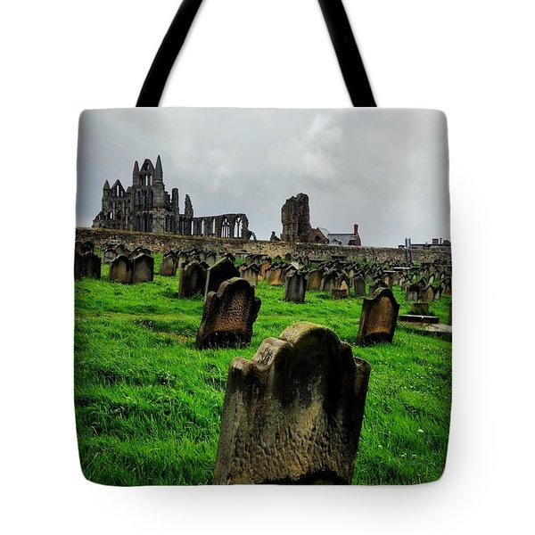 Whitby Graveyard Tote Bag
