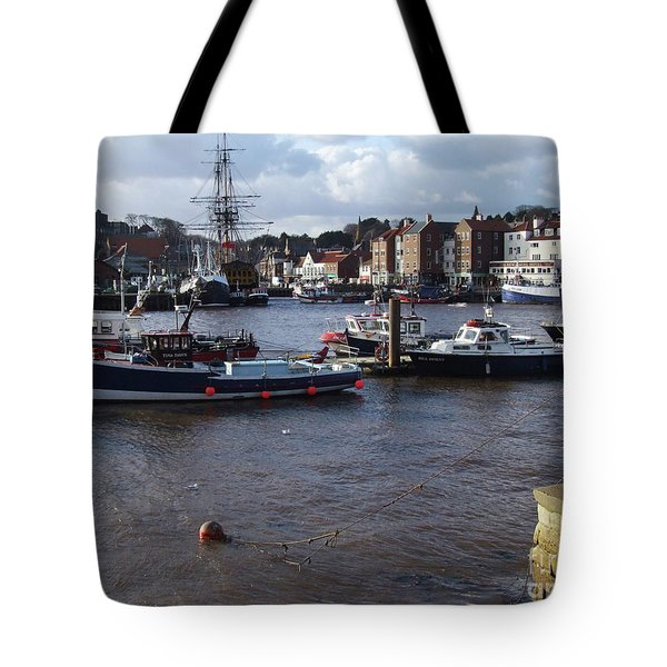 Whitby Harbour - North Yorkshire Tote Bag