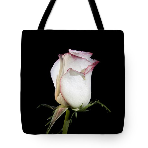 White And Red  Tote Bag