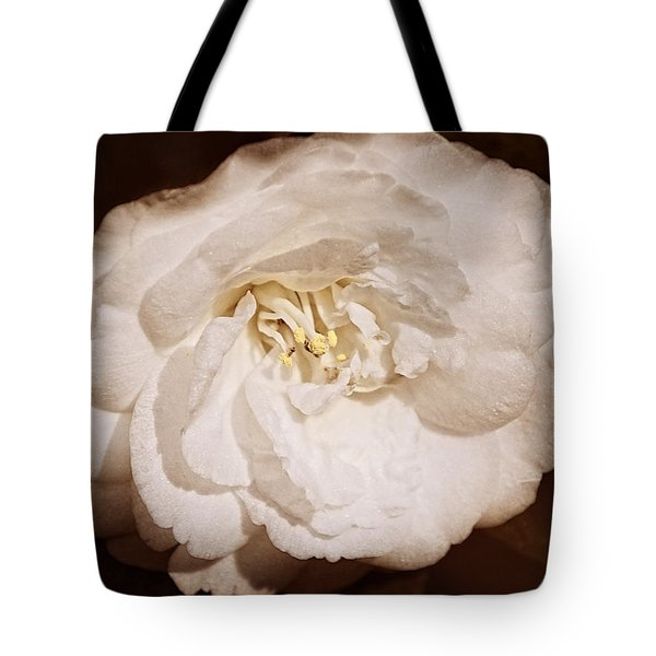 White And Willing Tote Bag