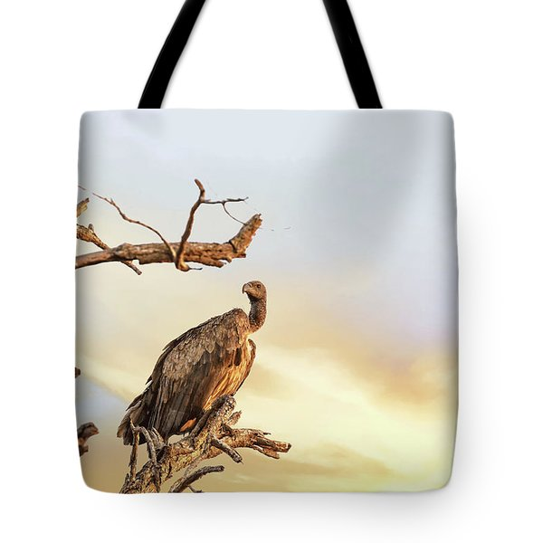 White-backed Vulture Tote Bag