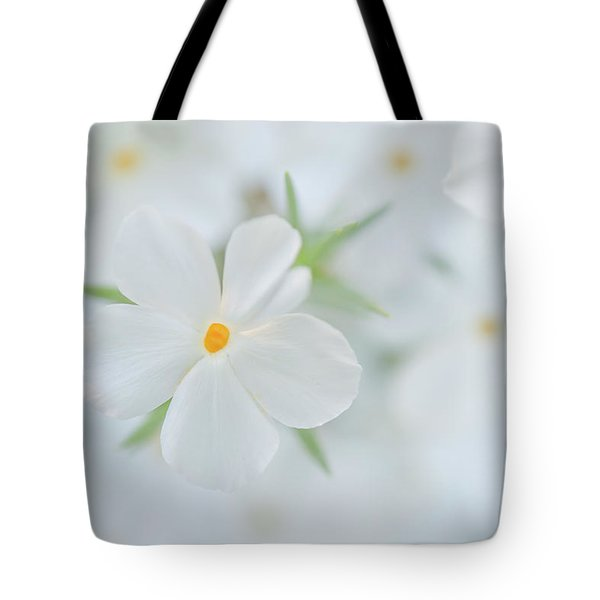 Tote Bag featuring the photograph White Beauty by Leland D Howard