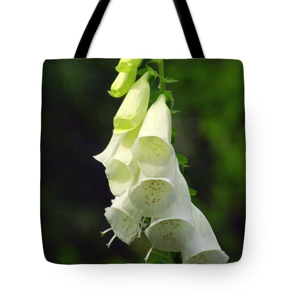 White Bells Tote Bag by Marty Koch