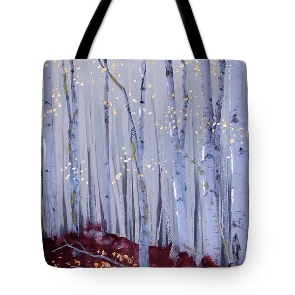 White Bird Tote Bag by Stanza Widen