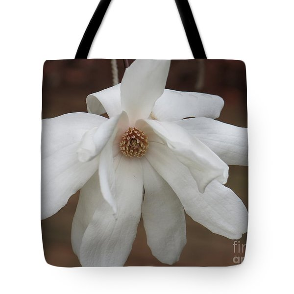 Tote Bag featuring the photograph White Blossom by Rod Ismay