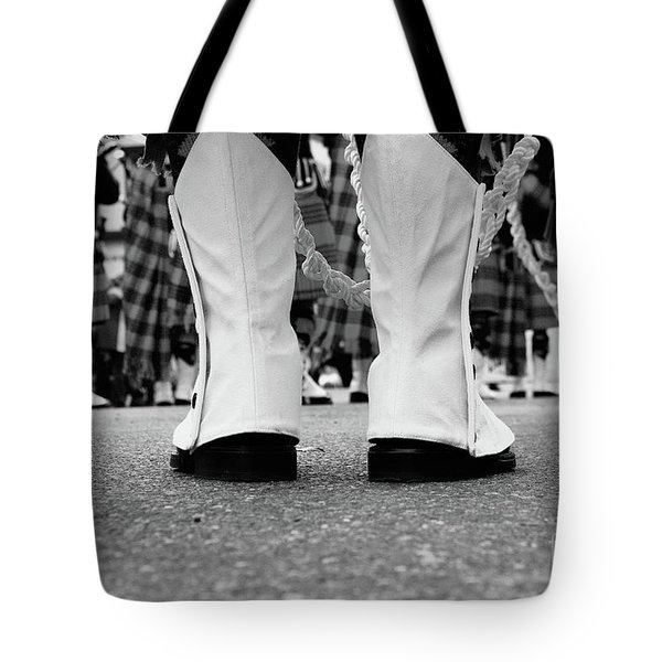 White Boots  Tote Bag