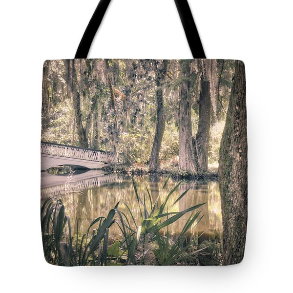 White Bridge Tote Bag