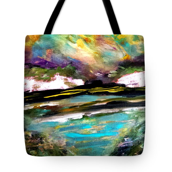 White Cliffs At Sunset Tote Bag