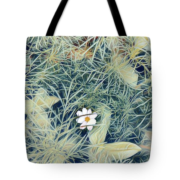 White Cosmo Tote Bag
