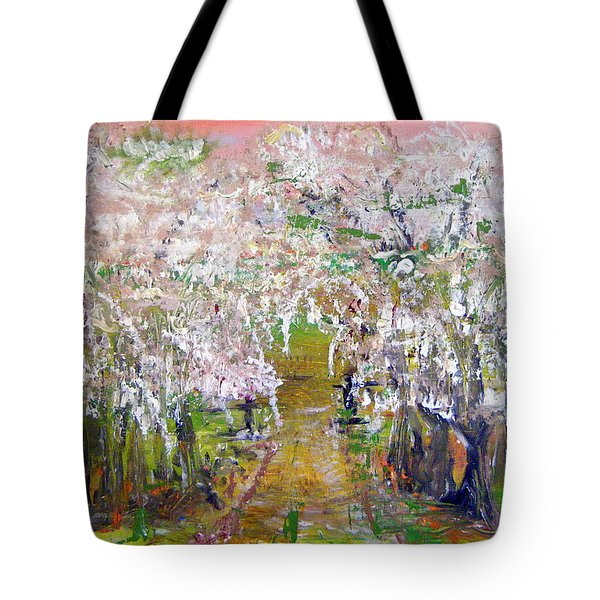 White Delight Tote Bag