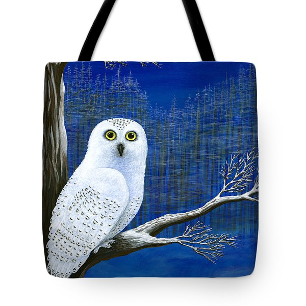 White Delivery Tote Bag