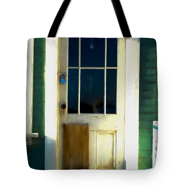 White Door -da- Tote Bag