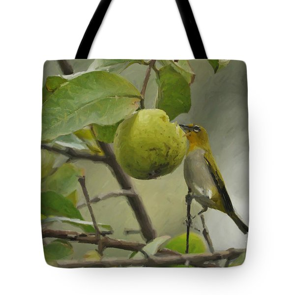 White Eye 2 Tote Bag
