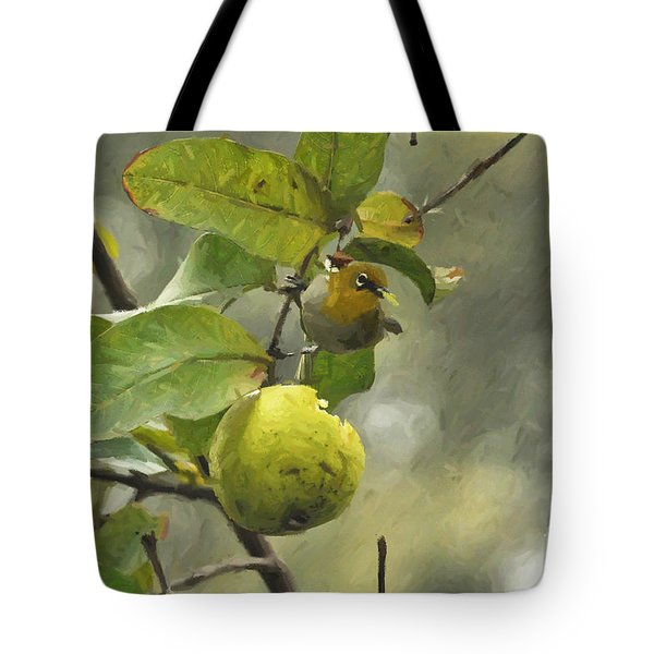 White Eye 3 Tote Bag