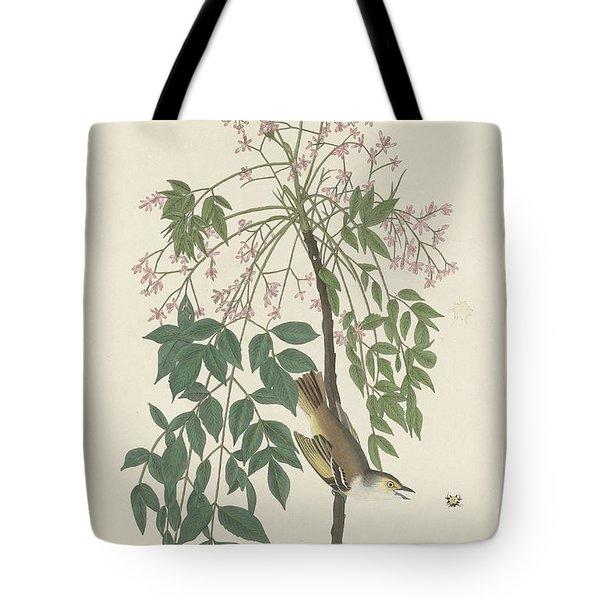 White-eyed Flycatcher Tote Bag