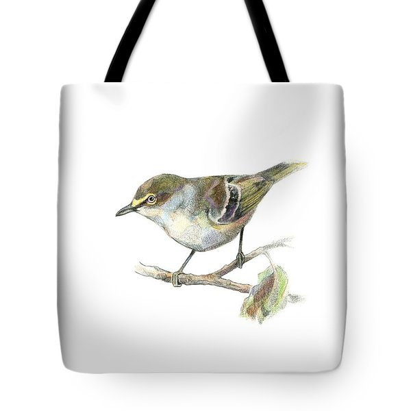 White-eyed Vireo Tote Bag