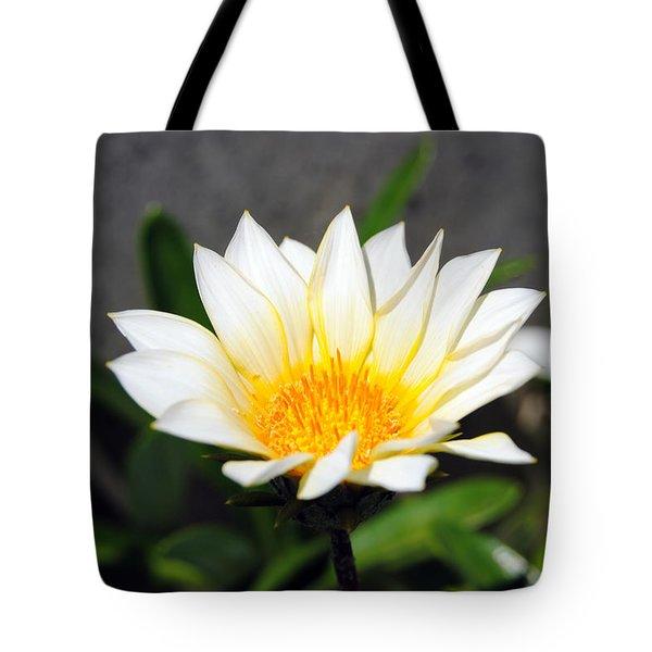 White Flower 3 Tote Bag