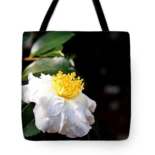 White Flower-so Silky And White Tote Bag