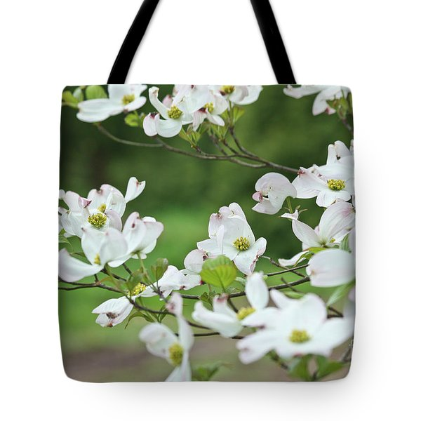 White Flowering Dogwood Tote Bag