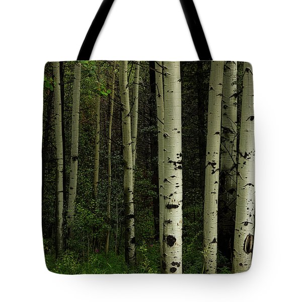 Tote Bag featuring the photograph White Forest by James BO Insogna