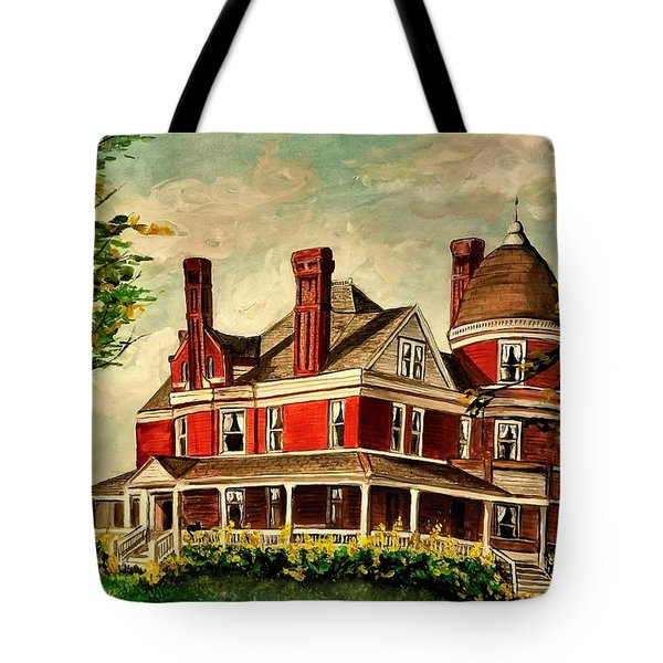 White Hall Tote Bag