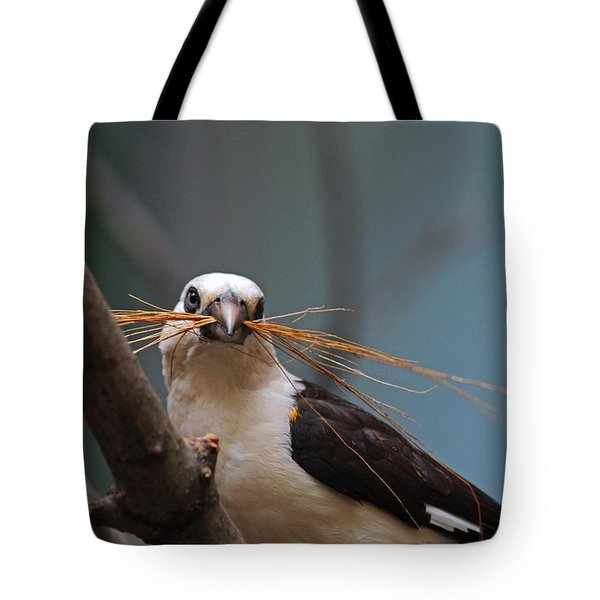 White-headed Buffalo Weaver Tote Bag