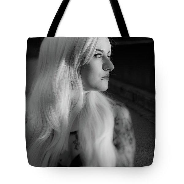 White Heat Tote Bag