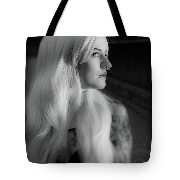 White Heat Tote Bag