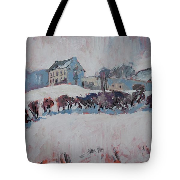 White Hill Zonneberg Maastricht Tote Bag by Nop Briex