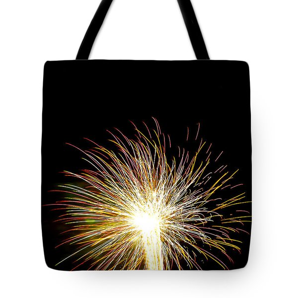White Hot Tote Bag by Phill Doherty