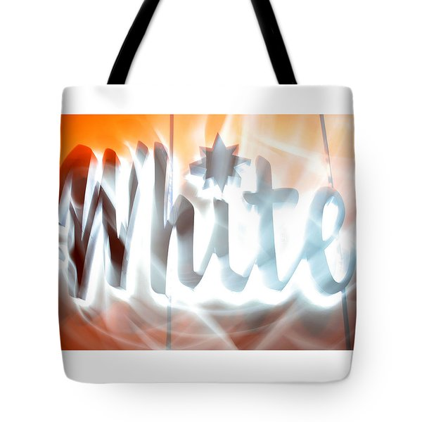 White Hot Tote Bag