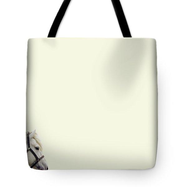 White Hourse Tote Bag