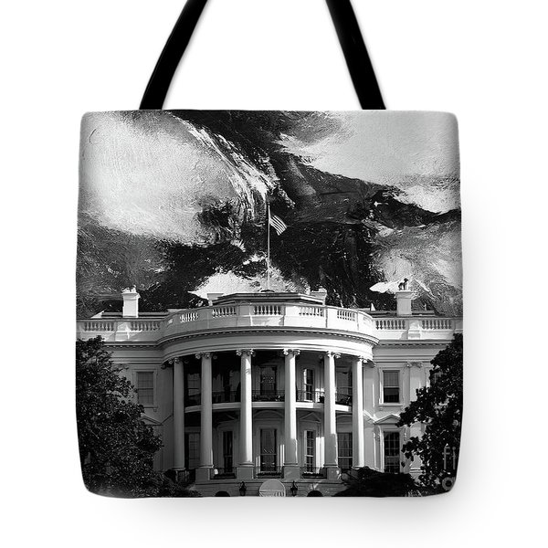White House 002 Tote Bag by Gull G